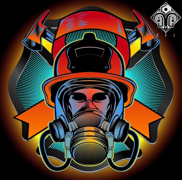 firefighter free vector in adobe illustrator ai    ai