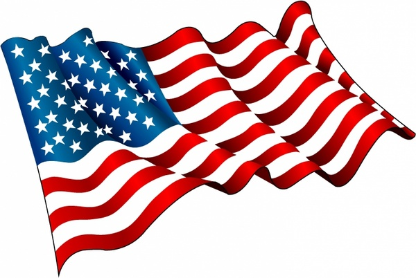 flag of usa free vector in adobe illustrator ai ai