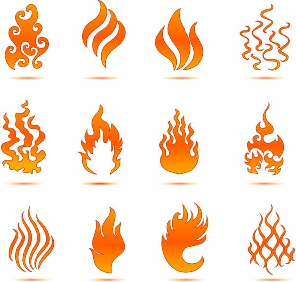 fire flame vector art free vector download (212,784 free vector