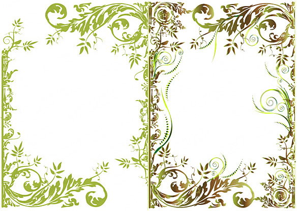 Floral Border Fashion Vector Free Vector In Encapsulated