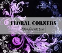 Floral Corners – PSCS brushset