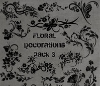 Floral Deco Brushes 3