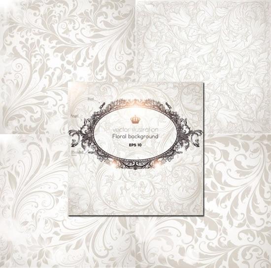 card cover template luxury elegant european royal decor