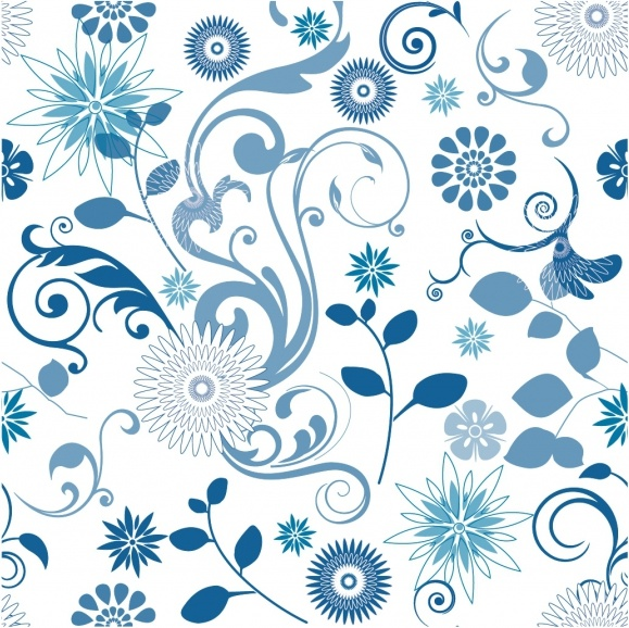 Floral Pattern Free Vector In Adobe Illustrator Ai Ai