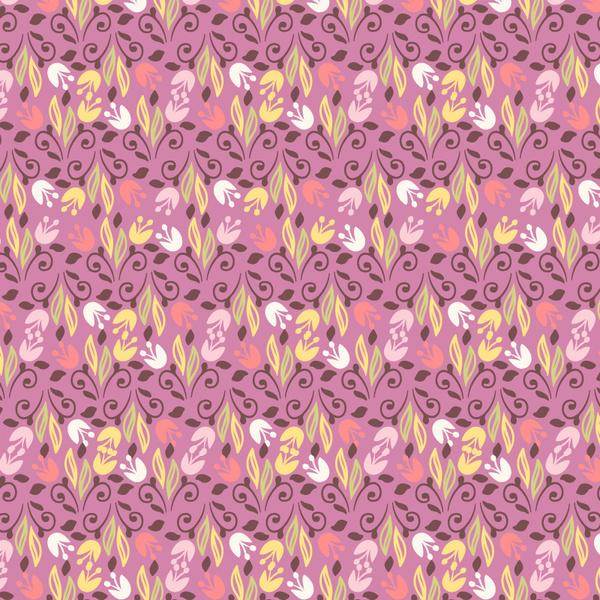 flower floral vintage pattern