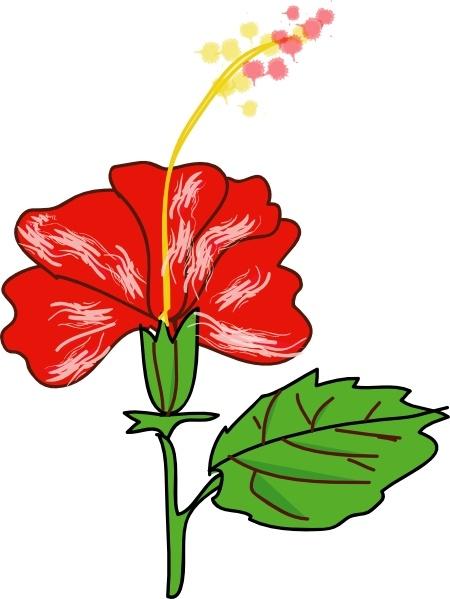 Flower Hibiscus clip art
