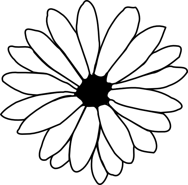 flower outline clip art free vector in open office drawing svg rh all free download com hawaiian flower clipart outline flower outline clip art black and white