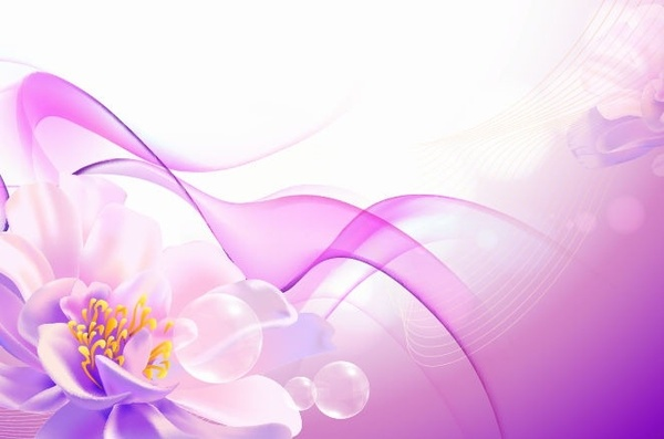 flower pink background vector art free vector in encapsulated