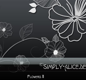 Flowers11 - PS Brushes
