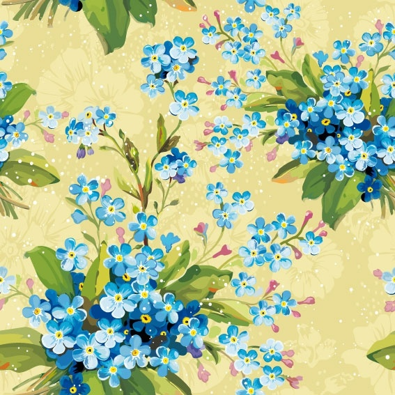 flowers background 05 vector