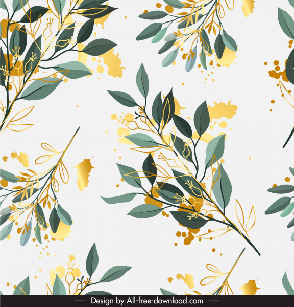 flowers pattern colorful bright watercolors decor