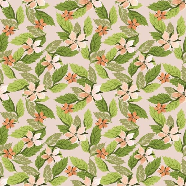 flowers wallpaper pattern vector