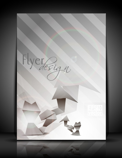 brochure design vector free download cdr