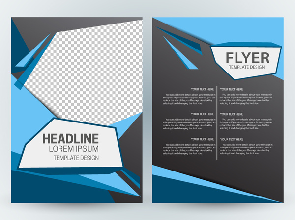 Flyer template design with modern abstract checkered dark background flyer template design with modern abstract checkered dark background maxwellsz