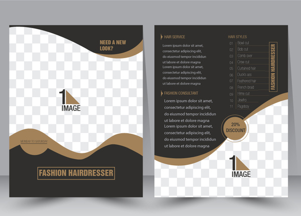ai brochure template - portfolio template adobe illustrator free vector download