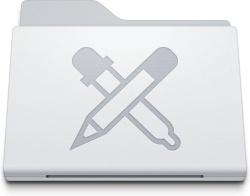 Folder Apps White