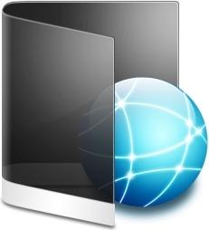 Folder Black Network