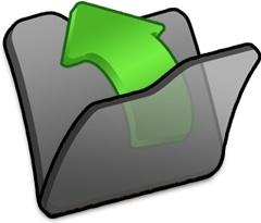 Folder black parent