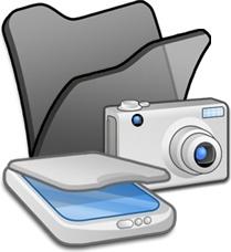 Folder black scanners cameras