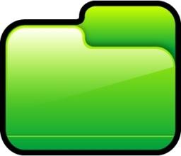 Folder Closed Green