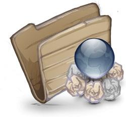 Folder Folder Garbage Globe