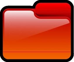 Folder Generic Red