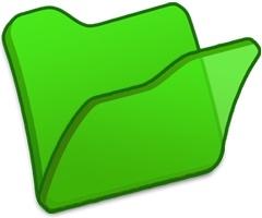 Folder green