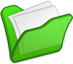 Folder green mydocuments