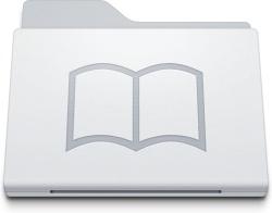 Folder Library White
