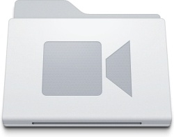 Folder Movies White