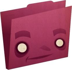 Folder pink