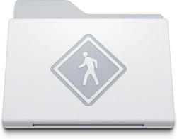 Folder Public White