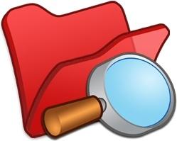 Folder red explorer