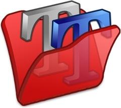 Folder red font2