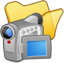 Folder yellow videos