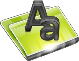 Folders Font Folder