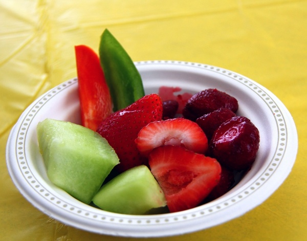 food berries strawberries