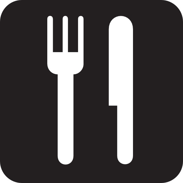 Food Service Black Clip Art Free Vector In Open Office Drawing Svg