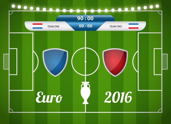 football match euro cup 2016