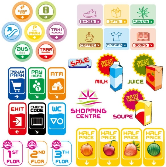 foreign label vector