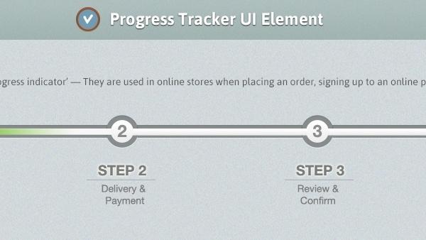 Form Progress Interface