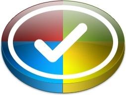 Four color round tick