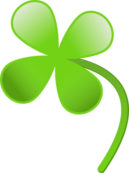 four leaves clover clip art free vector in open office drawing svg