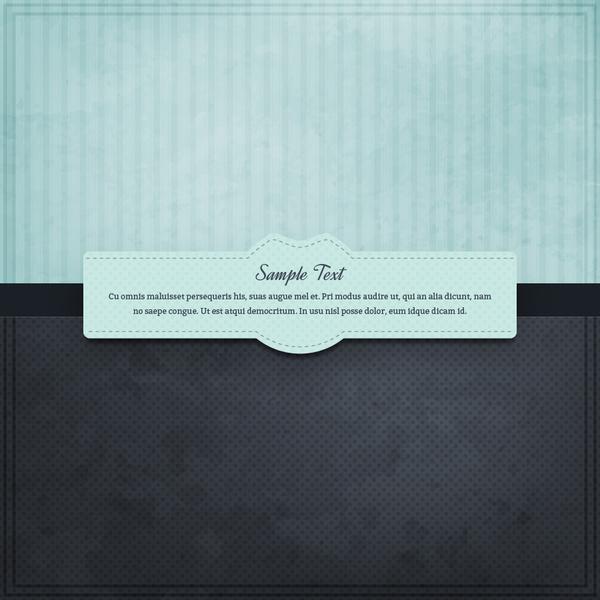 frame message design template