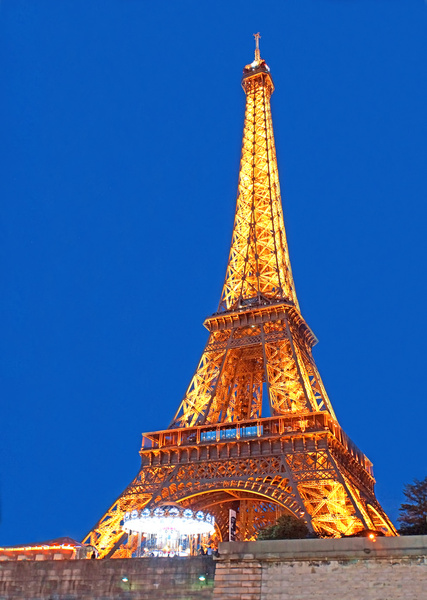 france 000539 eiffel tower amp carousel last of paris