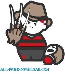 Freddy Krueger Cartoon