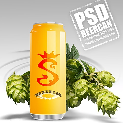 free beer can psd free psd in photoshop psd psd file format