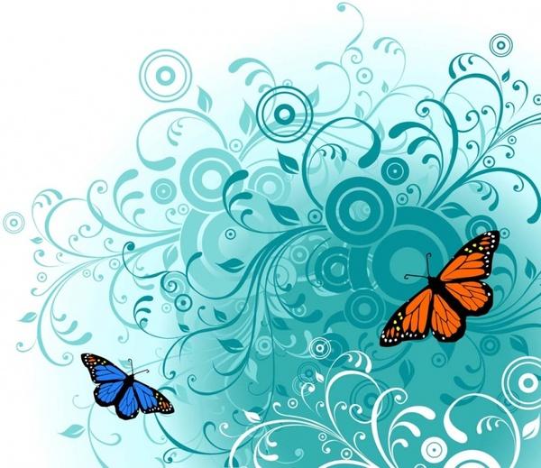 Free Butterfly Vector Art