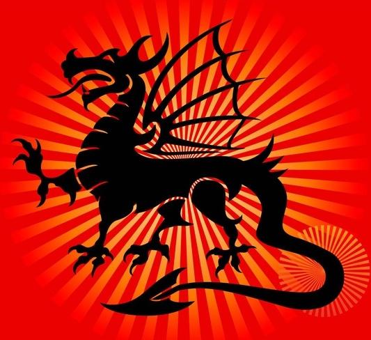 free dragon vector