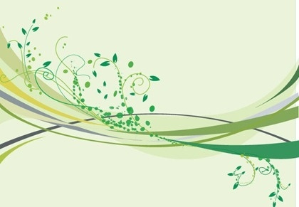floral background design classical curves style decoration